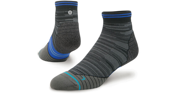 Stance M's Uncommon Solids Qtr Socks Black